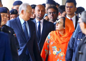 Malaysia government, police file forfeiture suits against Najib and Rosmah over items worth $234m