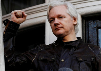 WikiLeaks founder Julian Assange arrested by British police after Ecuador withdraws diplomatic asylum