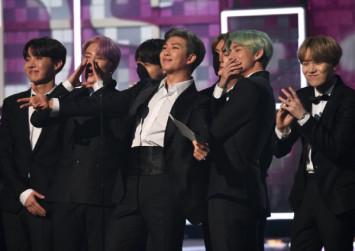 BTS makes historic debut at Grammys