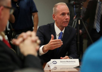 Boeing CEO confident in 737 MAX safety after second deadly crash