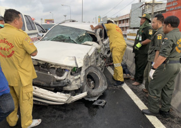 Opening day for Songkran road carnage sees 46 killed