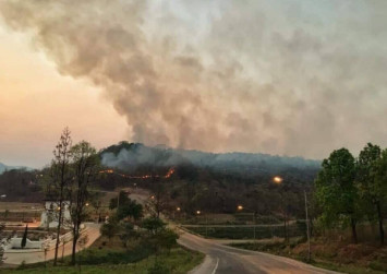 Chiang Mai has world's worst air as fires continue to rage in the North