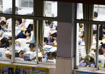Chinese school segregates boys from girls in cafeteria to clamp down on teen romances