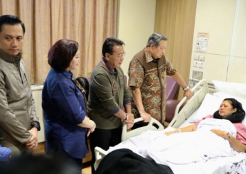 Indonesian former first lady Ani Yudhoyono diagnosed with blood cancer