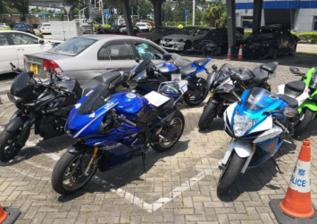 Six Hong Kong motorcyclists have bikes seized over illegal modifications