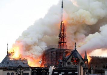 Fire guts Paris' Notre-Dame Cathedral, Macron vows to rebuild centuries-old landmark