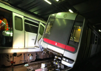 Hong Kong MTR, hit by train collision, suffers second setback as woman falls on tracks at Kowloon Tong