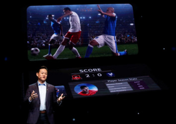 LG unveils dual-screen 5G smartphone and touts biometric breakthrough