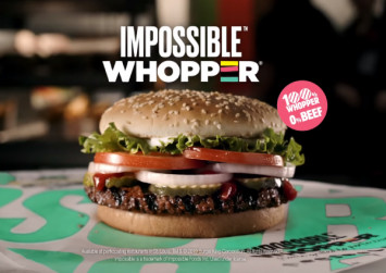 'Impossible' meatless patty gets Burger King Whopper test in US