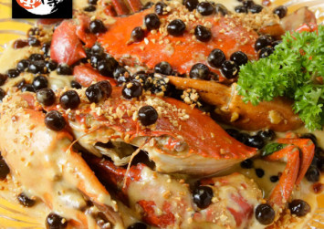 This boba milk crab is probably for die-hard bubble tea fans only