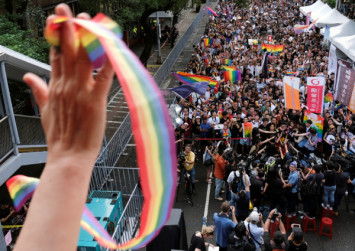 China signals won't follow Taiwan in allowing same-sex marriage