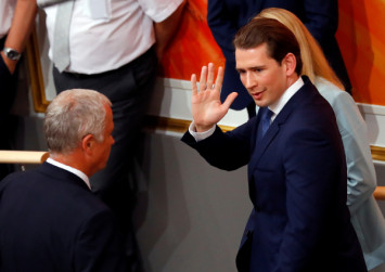 Austria's 32-year-old chancellor Kurz ousted