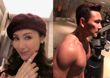 Hong Kong actress Kenix Kwok posts topless photo of husband on social media