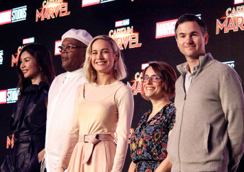 Captain Marvel role made Brie Larson want to 'throw people'