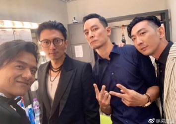 Gen-X Cops Daniel Wu, Nicholas Tse reunite at Hong Kong Film Awards after 20 years