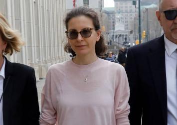 US liquor heiress pleads guilty in sex cult case