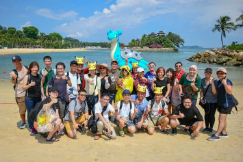 First Pokémon GO Safari Zone in Southeast Asia pulls in a whopping 95k people to Sentosa