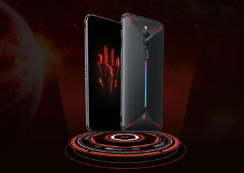Nubia reveals their new gaming smartphone, which has an internal cooling fan