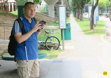 Don't Say Cannot: He may be blind, but he can text faster than you