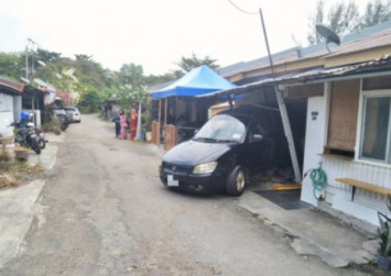 3-year-old girl killed as car crashes into house in Penang