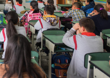China teacher suspended after making pupils slap themselves on the face
