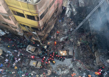 Funerals held for Dhaka fire victims amid demands for crackdown
