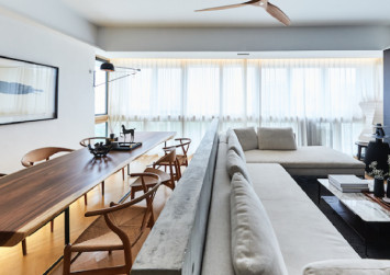House tour: Contemporary-style, fengshui-based three-bedroom condo apartment