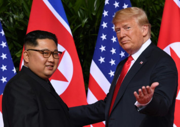 Trump says he's in 'no rush' for nuclear deal with North Korea's Kim