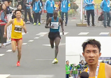 Chinese runner suffers diarrhoea nightmare at Shanghai half-marathon
