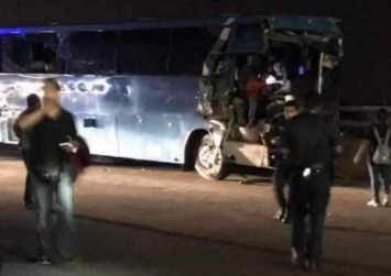 1 killed, 16 injured in Tuas Checkpoint bus accident; heavy vehicle lane into Singapore closed