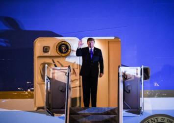"Trump predicts ""AWESOME"" future for North Korea if ""friend"" Kim shuns nukes"