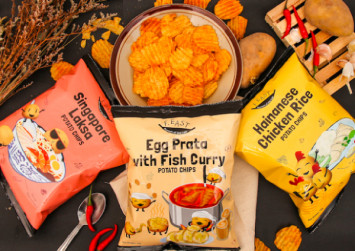 Singapore snacks: 7 local brands that make chips in flavours like laksa, chilli crab, and cereal prawn