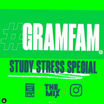 Instagram launches #GramFam online zine for teens struggling with school-related stress