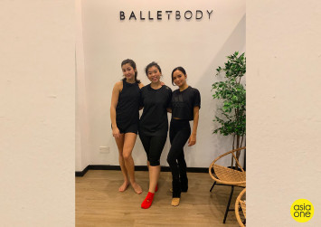 #Joeyjios: I try a ballet-inspired workout despite my two left feet