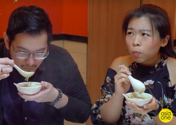 #Joeyjios: We dipped beef in bubble tea hotpot and ate toast covered in bubble tea pearls