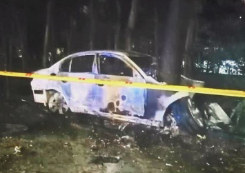 Malaysian BMW driver burnt to death in crash