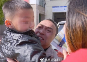 Grandfather in China reunited with boy whose parents sold him and split the money