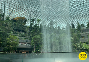First Look: We get a sneak preview of Jewel Changi Airport
