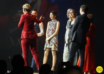 Fans get up close to Captain Marvel stars Brie Larson, Samuel L. Jackson, Gemma Chan at red carpet event in Singapore