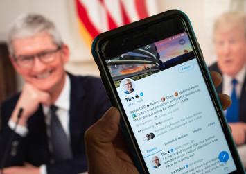 'Tim Apple' goes viral on social media after Trump gaffe