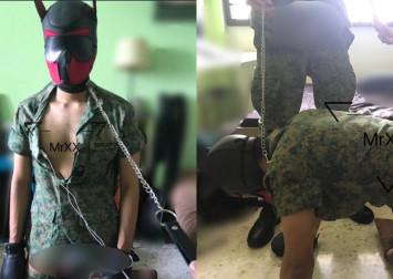 Explicit tweet depicts BDSM dog play involving SAF uniforms; Mindef investigating