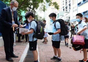 Hong Kong international schools reopen after 4 months of closures