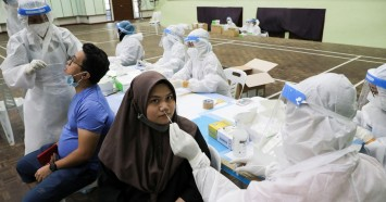 Anger simmers in Malaysia as Covid-19 surge strains healthcare system