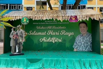 People's Association apologises for using couple's wedding photo for Hari Raya decorations without permission