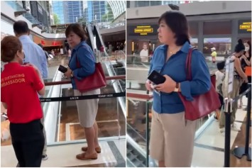 'If you have no badge, why are you asking me to do something?' Woman at MBS who refused to wear a mask being investigated