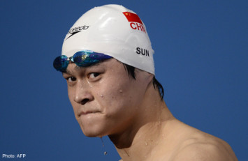 China reveals drugs ban for Olympic champ Sun Yang