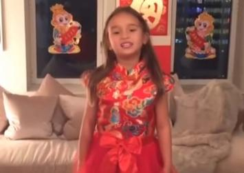 Video of Donald Trump's 5-year-old granddaughter reciting Chinese poetry wins hearts of Chinese netizens
