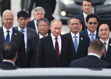 Trump will not meet with Putin in Vietnam: White House