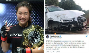 Fighter Angela Lee injured in accident after falling asleep while driving in Hawaii: : Car flipped '5 to 6 times'
