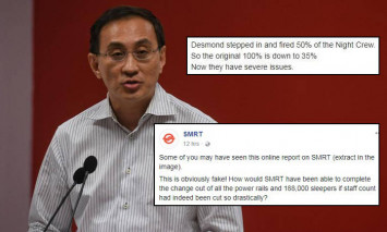 SMRT refutes claims that CEO Desmond Kuek fired 50% of staff: 'This is obviously fake!'